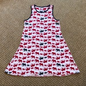 Girls size 10/12 Lands End Tank Dress